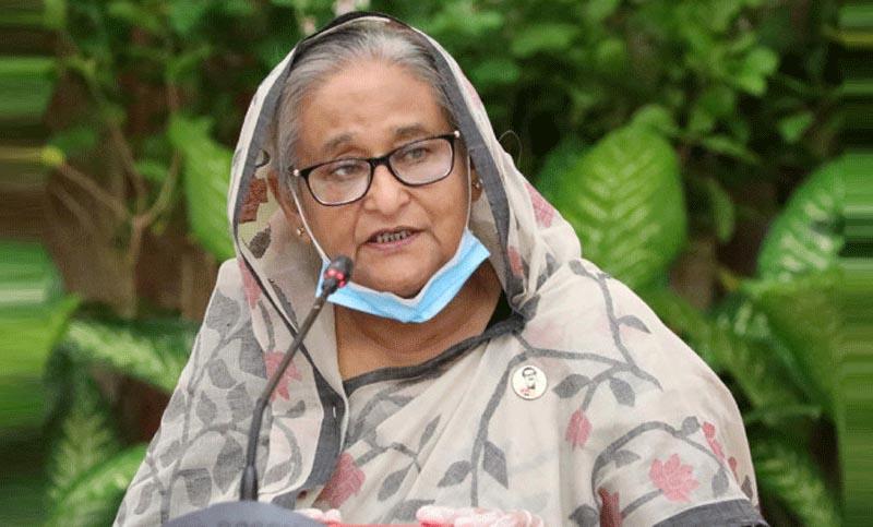 বাংলাদেশ কারও সঙ্গে যুদ্ধে জড়াতে চায় না : প্রধানমন্ত্রী