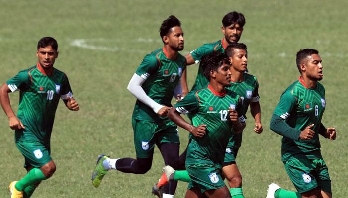 নেপালের বিপক্ষে ১-০ গোলে এগিয়ে বাংলাদেশ