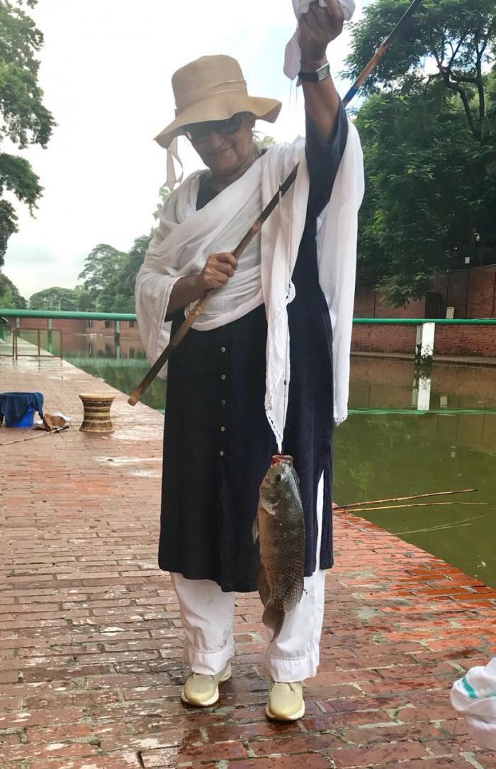 'অবসরে সেলাই ও মাছ ধরেন প্রধানমন্ত্রী'